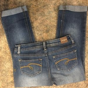 Justice cropped pants size 12
